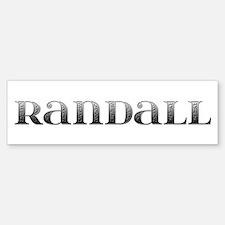 Randall Carved Metal Bumper Bumper Bumper Sticker
