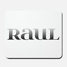 Raul Carved Metal Mousepad