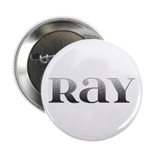 Ray Carved Metal Button
