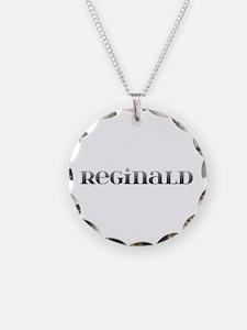 Reginald Carved Metal Necklace