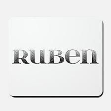 Ruben Carved Metal Mousepad