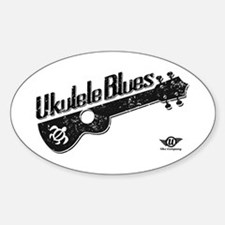 Ukulele Blues Bumper Stickers