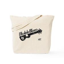 Ukulele Blues Tote Bag