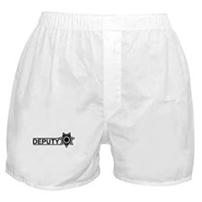 Deputy Badge Boxer Shorts
