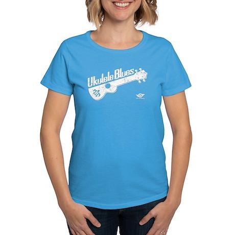 Ukulele Blues Women's Dark T-Shirt