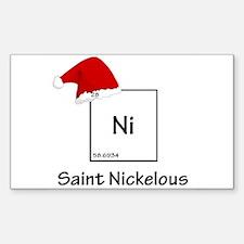 saint nickelous Decal