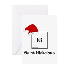 saint nickelous Greeting Card