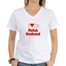 I Love My Polish Husband Shirt