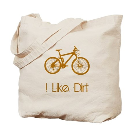 I Like Dirt Bike Tote Bag