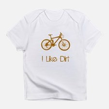 I Like Dirt Bike Infant T-Shirt
