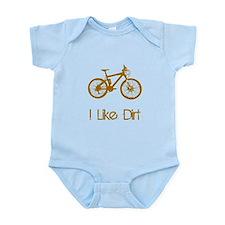 I Like Dirt Bike Infant Bodysuit