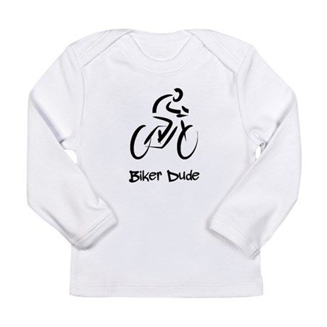 Biker Dude Long Sleeve Infant T-Shirt