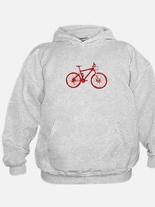 Red Mountain Bike Hoodie