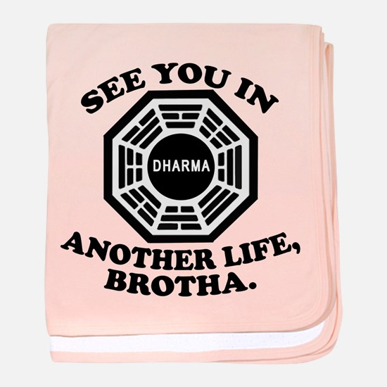 Classic LOST Quote baby blanket