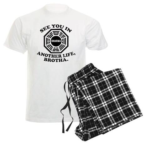 Classic LOST Quote Men's Light Pajamas