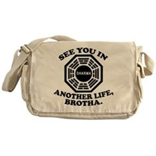 Classic LOST Quote Messenger Bag