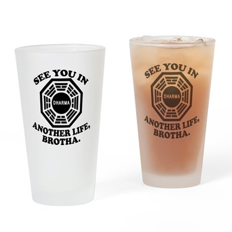 Classic LOST Quote Drinking Glass