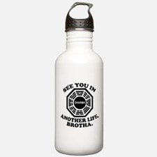 Classic LOST Quote Sports Water Bottle