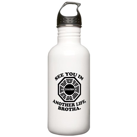 Classic LOST Quote Stainless Water Bottle 1.0L