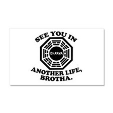 Classic LOST Quote Car Magnet 20 x 12