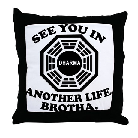 Classic LOST Quote Throw Pillow