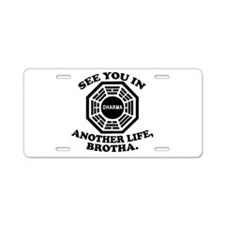 Classic LOST Quote Aluminum License Plate