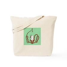 Celtic Siamese Cat Tote Bag