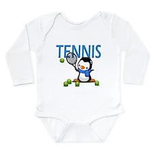 Tennis Long Sleeve Infant Bodysuit