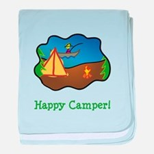 Happy Camper! baby blanket