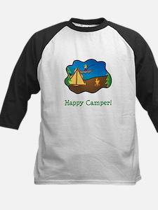 Happy Camper! Kids Baseball Jersey