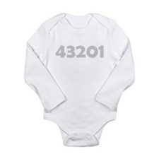 43201 Long Sleeve Infant Bodysuit