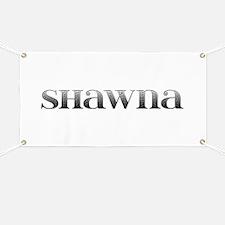 Shawna Carved Metal Banner