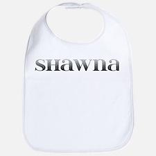 Shawna Carved Metal Bib