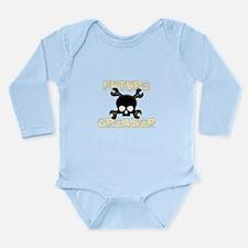 Future Greaser Long Sleeve Infant Bodysuit