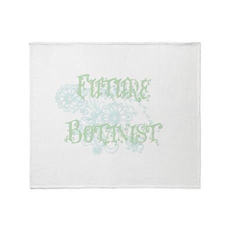 Future Botanist Throw Blanket