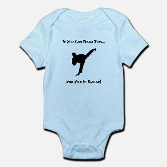 You Are In Range Infant Bodysuit