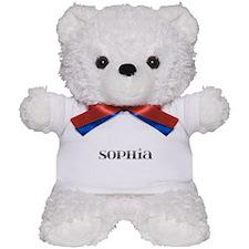Sophia Carved Metal Teddy Bear