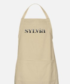 Sylvia Carved Metal Apron