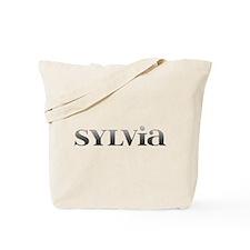 Sylvia Carved Metal Tote Bag