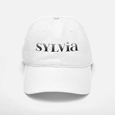 Sylvia Carved Metal Baseball Baseball Cap