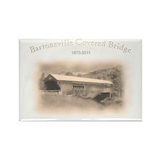 Bartonsville Covered Bridge Rectangle Magnet (100