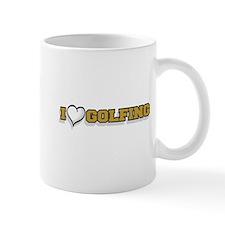 I Love Golfing Mug