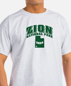 Zion Old Style Green T-Shirt