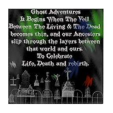 Ghost Adventures Tile Coaster