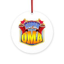 Super Oma Ornament (Round)
