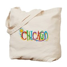 KIDS Chicago Sun Tote Bag