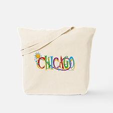 KIDS Chicago Sun Tote Bag