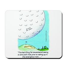 The Last Thing I Remember Gol Mousepad