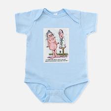 Medicare Boob Job Infant Bodysuit