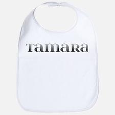 Tamara Carved Metal Bib